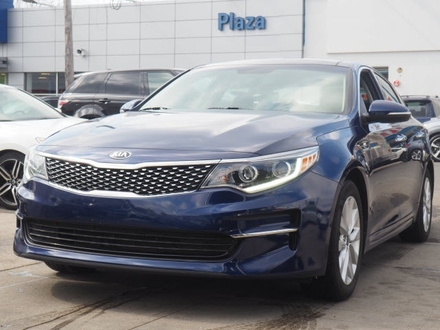 Certified Pre Owned 2017 Kia Optima Ex 4d Sedan In Brooklyn Uk820l Plaza Honda