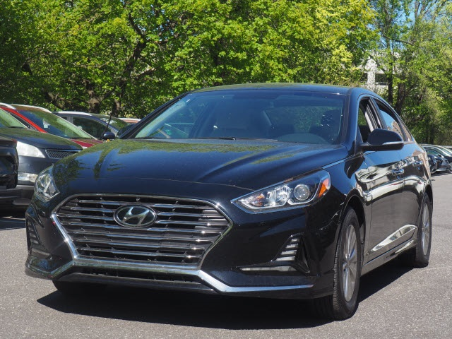 Certified Pre Owned 2018 Hyundai Sonata Hybrid Se 4d Sedan In Brooklyn Uy5535p Plaza Honda